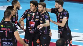 Volley: Superlega, La Lube non molla, la finale Play Off a Gara 5