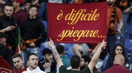 Roma-Liverpool: lo spettacolo sugli spalti