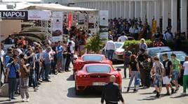 Napoli MotorExperience, Fisichella accende i motori
