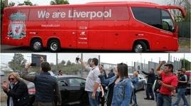 Il Liverpool torna a Formello accolto dai tifosi della Lazio