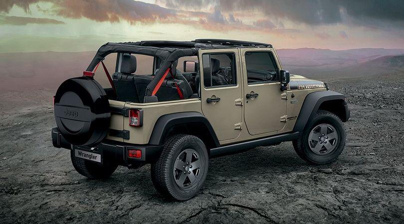 Jeep Wrangler, tripletta speciale per celebrare la terza serie
