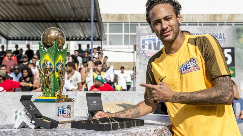 A Roma sbarca il Neymar Jr's Five