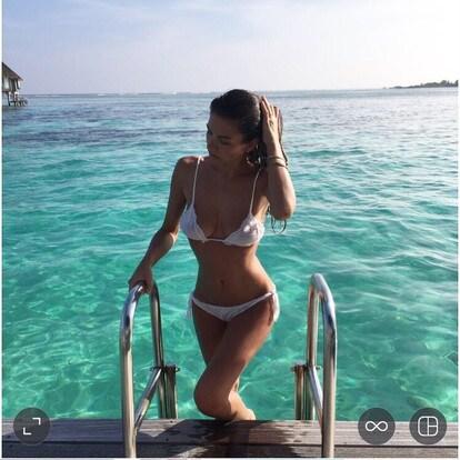 Alessia Ventura Calendario.Alessia Ventura Voglia Di Mare E In Splendida Forma