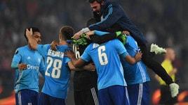 Europa League, Marsiglia vincente a 5,50