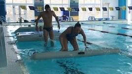 Nuoto, Federica Pellegrini e i suoi riscaldamenti alternativi...