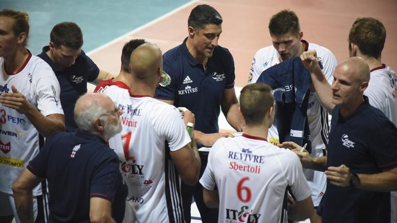 Volley: Superlega, Modena e Milano annunciano: Giani non cambierà panchina