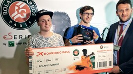 "Lorenzo ""Isniper"" Cioffi si qualifica per il ""Roland-Garros e-series by BNP Paribas"""