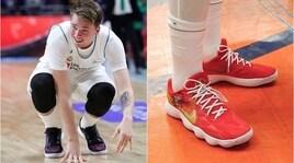 Basket:tutte le scarpe di Luka Doncic