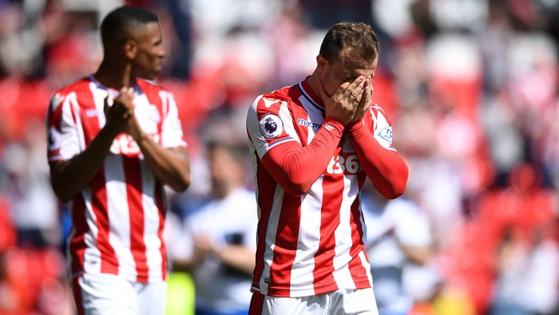 Premier League, lo Stoke City perde in casa e retrocede in Championship