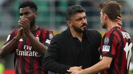 Milan, Gattuso: «Ora pronti per la finale di Coppa Italia»