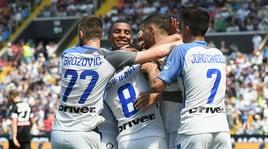 Udinese-Inter: Rafinha e Icardi trascinano i nerazzurri: poker alla Dacia Arena