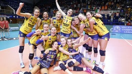 Volley: Champions League, l'Imoco Conegliano è sul podio