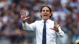 Lazio, Inzaghi:«L'Atalanta meritava di più. Champions? Il pari cambia poco»