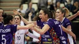 Volley: A2 Femminile, Finale Play Off: Gara 1 è della Battistelli