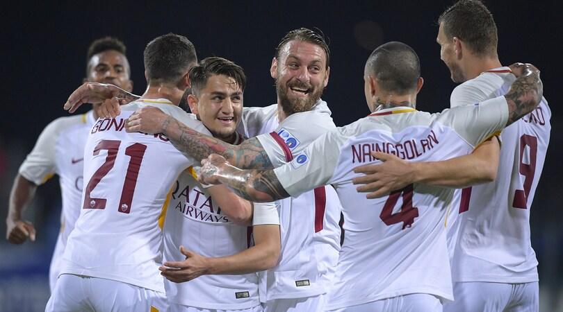 Cagliari-Roma 0-1: Ünder, gol da Champions