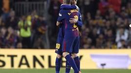 Barcellona-Real Madrid, la sostituzione di Iniesta nel Clasico
