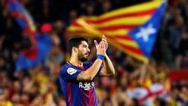 """Barcellona-Real Madrid 2-2: i catalani il """"Pasillo"""" se lo fanno da soli"""