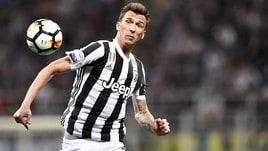 Coppa Italia Juventus, Mandzukic e De Sciglio in parte in gruppo