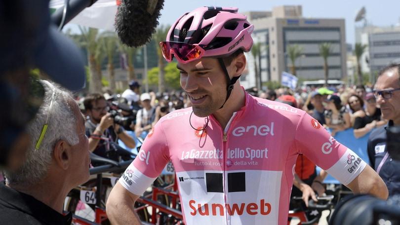 Ciclismo, al Giro ora il favorito numero uno è Dumoulin