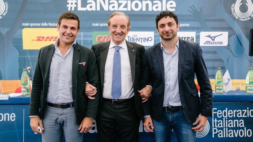 Volley: Blengini e Mazzanti hanno presentato i programmi delle nazionali