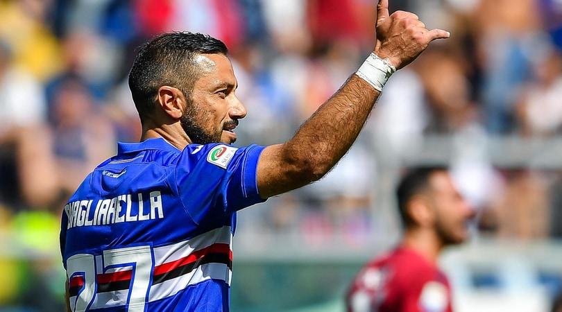 Serie A Sampdoria, terapie per Barreto e Quagliarella
