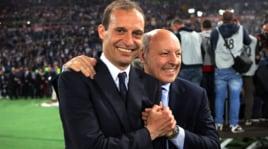 Juventus, Marotta: «Allegri? Ancora con noi, il rapporto funziona»