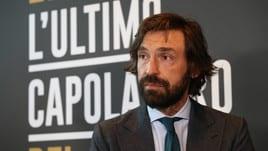 Ancelotti, Allegri e Conte a San Siro per Pirlo