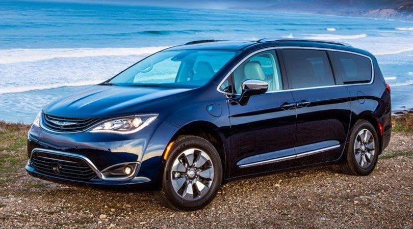 Chrysler Pacifica, arriva in Italia la grande ibrida FCA