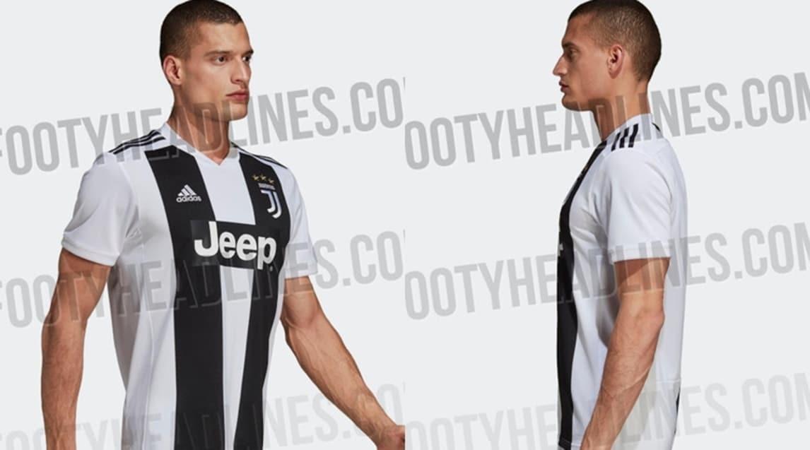 Il sito specializzato footyheadlines.com ha anticipato la divisa della stagione 2018-2019: maniche totalmente bianche con tre strisce nere sulle spalle che richiamano il logo dell'Adidas