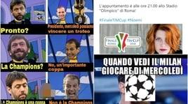 """Coppa Italia, sui social cresce l'attesa per Juventus-Milan. E """"twitta"""" anche Noemi"""