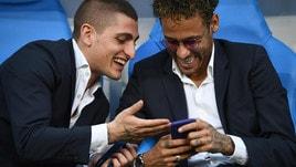 Coppa di Francia, c'è anche Neymar: quante risate con Verratti!