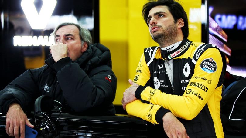 F1 Renault, Sainz: «Voglio dare il massimo»