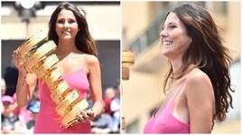 Giro d'Italia, il rosa si fa sexy ad Agrigento