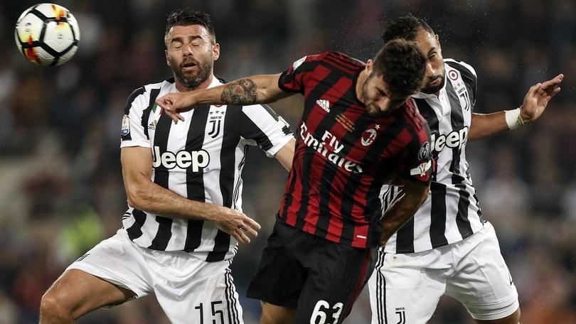 Coppa Italia Juventus-Milan 4-0, il tabellino