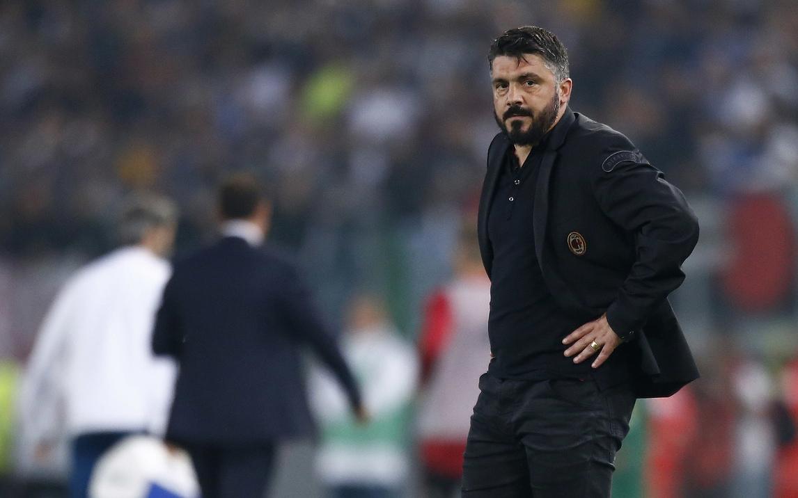 Milan, Gattuso: «Il 4-0 non rispecchia la nostra prestazione»