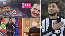 Coppa Italia, Juventus-Milan 4-0: la finale vista dai social