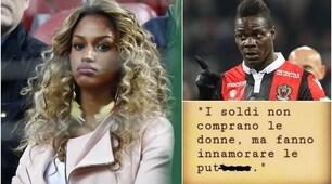 Balotelli-Fanny, i panni sporchi si lavano... sui social: duro scontro su Instagram