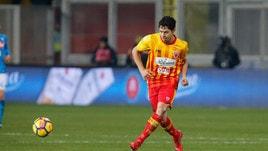 Serie A Benevento, differenziato per Costa e D'Alessandro