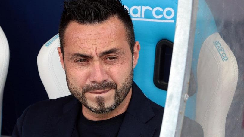 Serie A Benevento, De Zerbi: «Futuro? Prima chiudiamo dignitosamente»