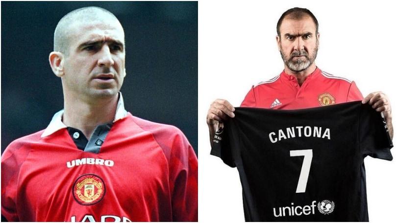 Cantona torna in campo all'Old Trafford con Bolt e Robbie Williams