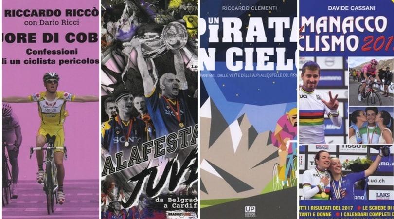 La Juve e la Champions, un romanzo senza lieto fine; e poi tre libri sul ciclismo