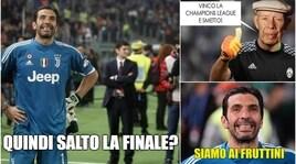 Buffon nel mirino della Uefa e l'Italia del calcio si divide sui social
