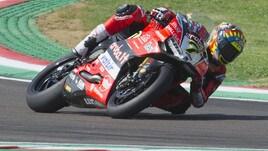 Superbike Italia, Davies e Rea a braccetto nelle libere, 3° Melandri
