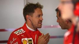 F1 Spagna, Vettel: «Mai in pole qui? Ci proverò domani»