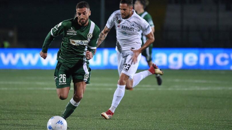 Serie B Avellino-Spezia 1-0. Decide la rete di Castaldo