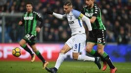 Serie A Inter-Sassuolo, formazioni ufficiali e tempo reale alle 20.45. Dove vederla in tv