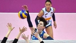 Volley: Nazionale Femminile, Mazzanti ha scelto le 14 per gli Usa