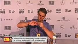 Nadal sconfitto, risponde così al giornalista...