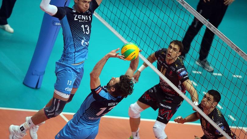 Volley: Champions League, troppo forte lo Zenit, Perugia si arrende