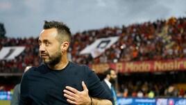 Calciomercato Sassuolo, De Zerbi: «Ce la giocheremo con tutti»